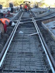 New Railway Construction Project: GE Locomotive