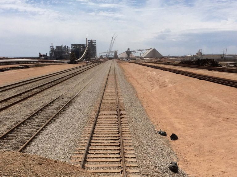 Mosaic Potash Railroad Construction Project